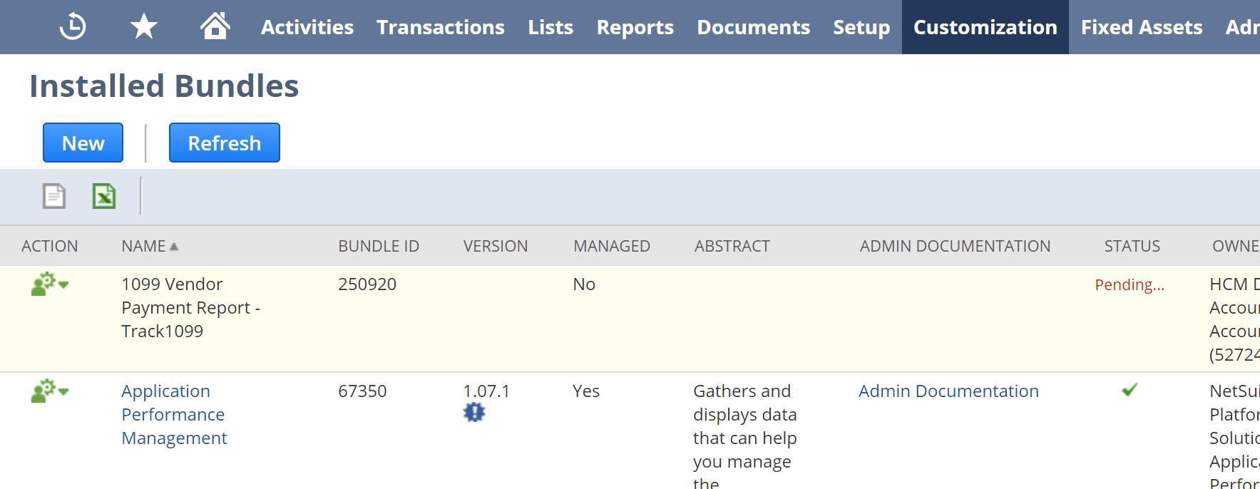 NetSuite Bundle - Track1099